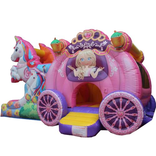 Comprar el Castillo hinchable Carruaje de princesa-6
