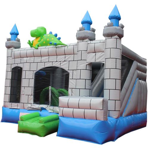 Comprar el Castillo hinchable Dragón con tobogán-2