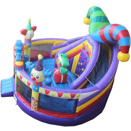 Comprar el Castillo hinchable Multiplay Circo con tobogán-3