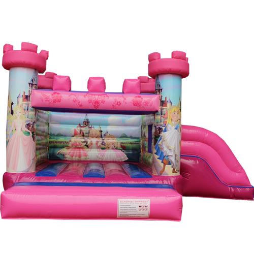 Comprar el Castillo hinchable Princesas con tobogán-2