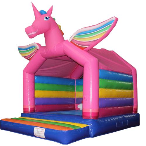 Comprar el Castillo hinchable Unicornio-5