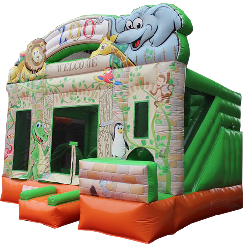 Comprar el Castillo hinchable Zoológico-3