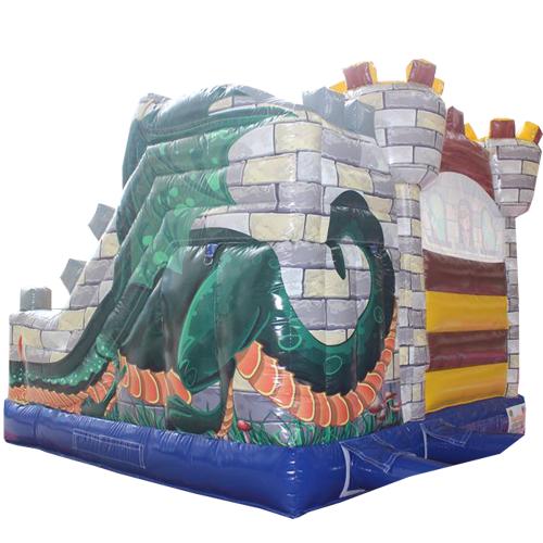 Comprar el castillo hinchable Fortaleza con tobogán