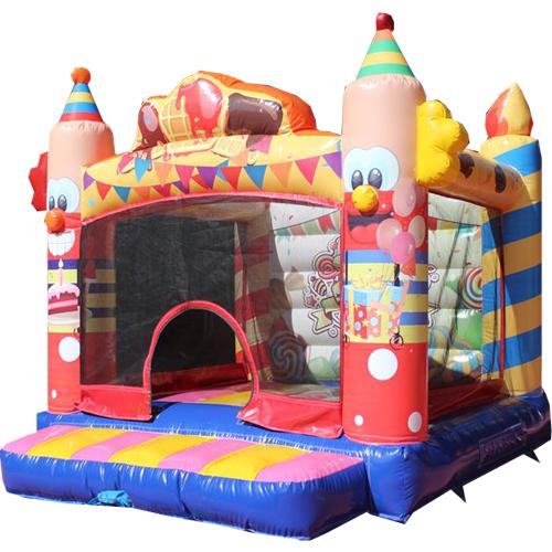 Comprar el castillo hinchable Payaso