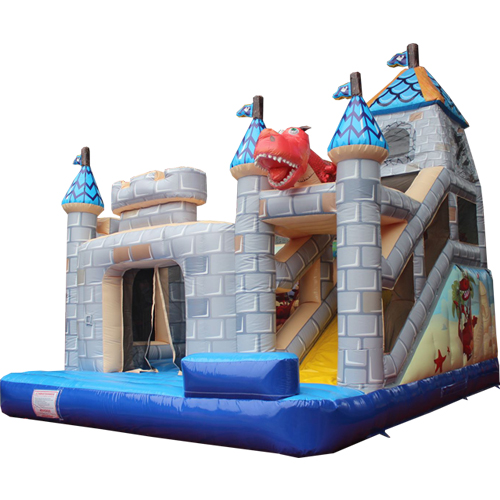Comprar el Castillo hinchable Torreta con tobogán